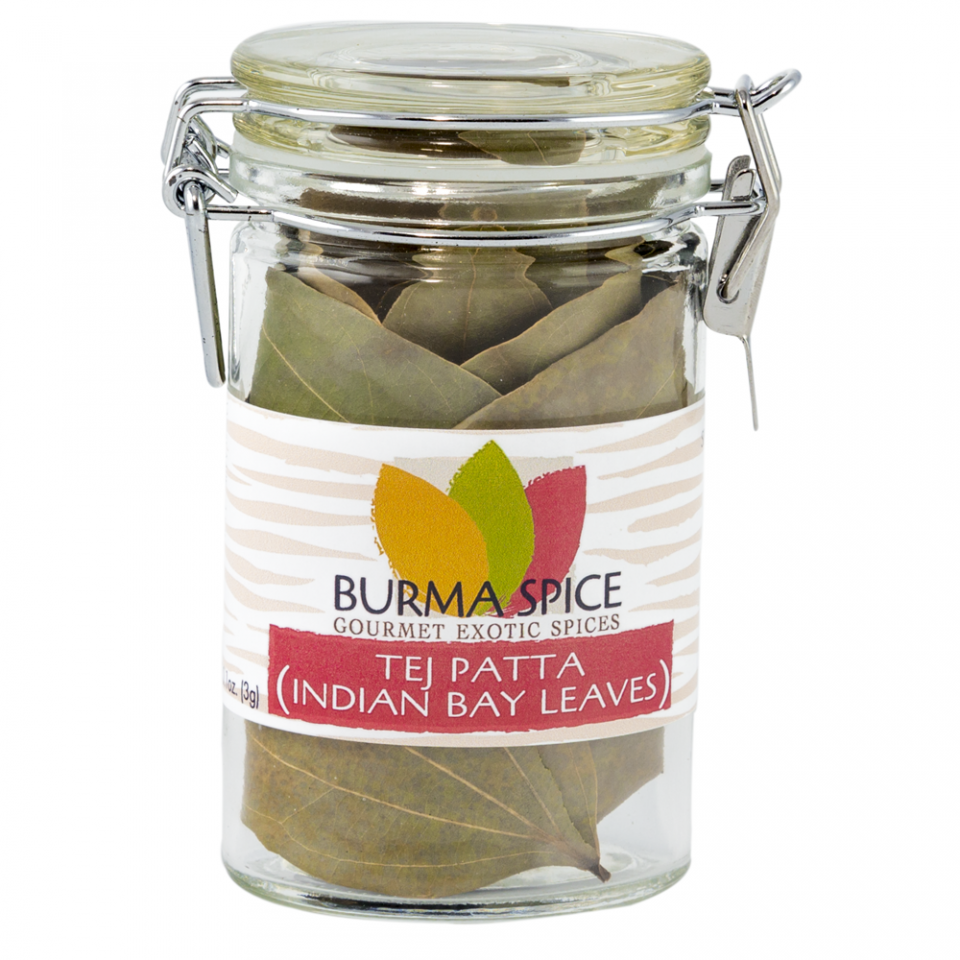 Burma Spice Gourmet Indian Bay Leaves - Tej Patta