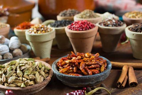 Middle East spices