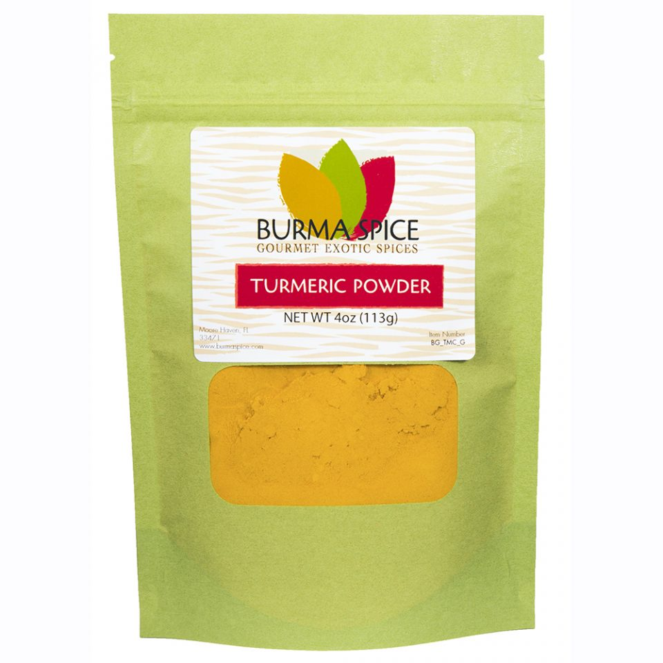 Burma Spice Gourmet Turmeric Powder | Resealable Bag