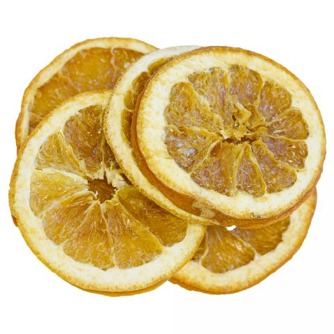 Orange, Slices, Dried