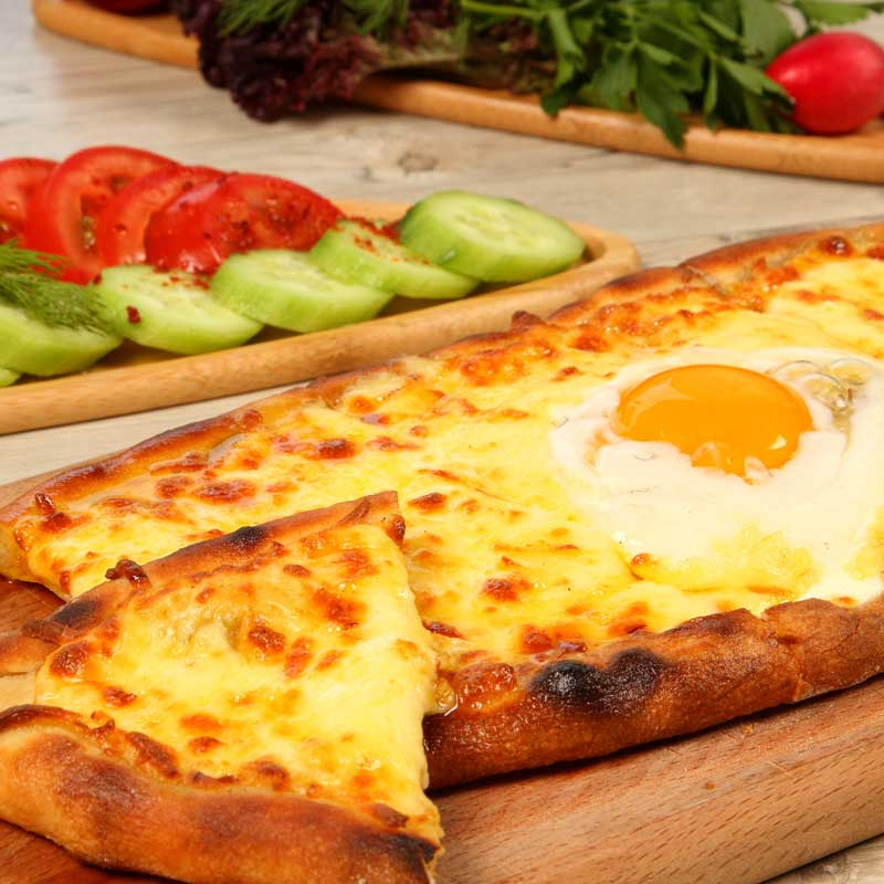Turkish Breakfast Pide