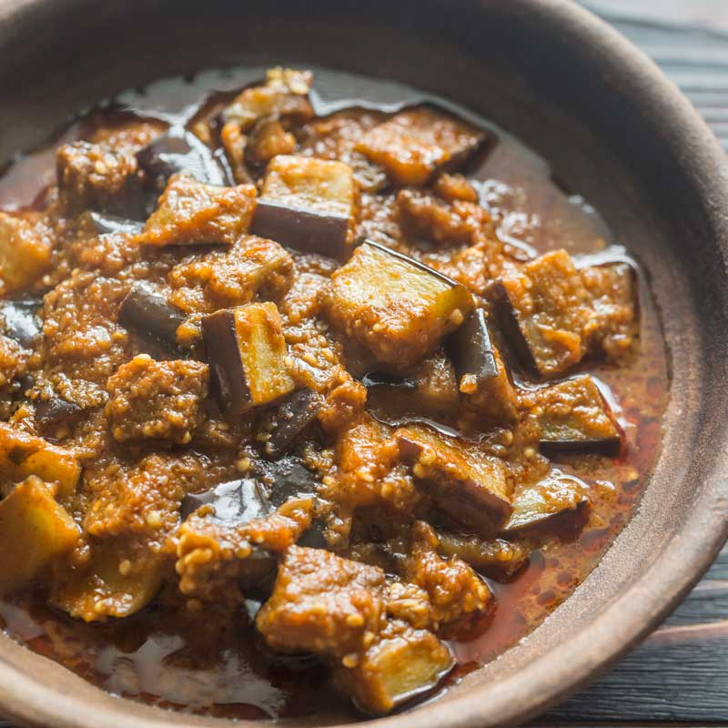 Burmese Eggplant Curry