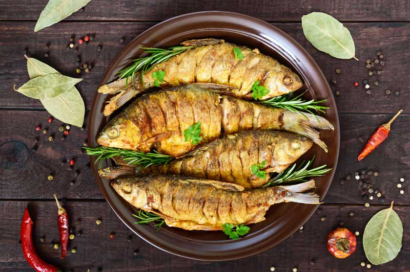 Fried Fish with Lemongrass (Ca Chien Xa)