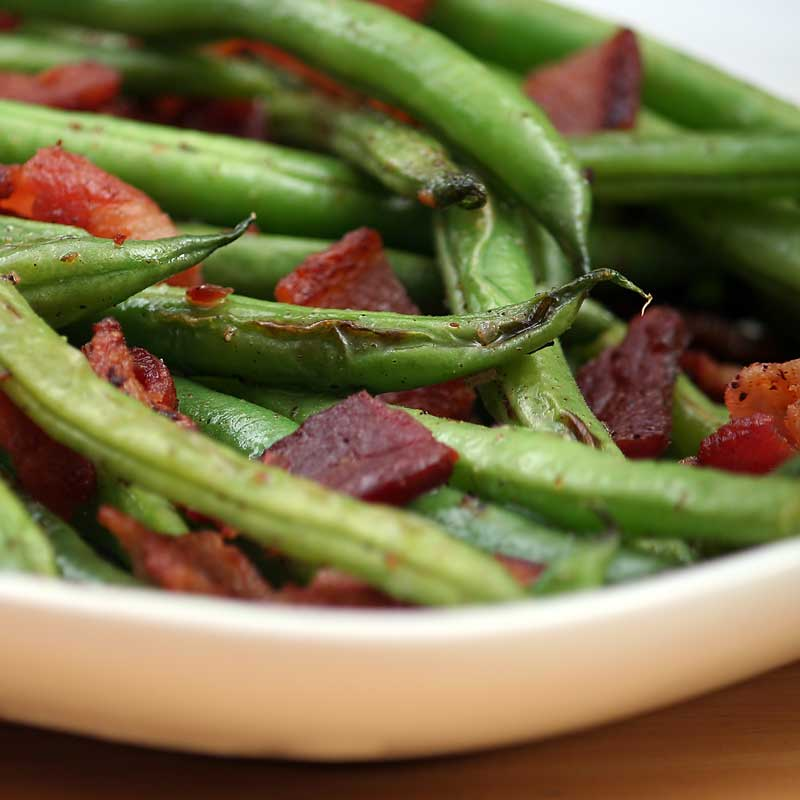 Green Bean Salad with Summer Savory