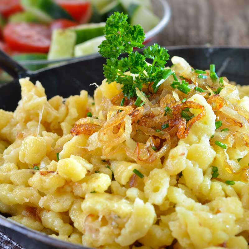 Käsespätzle (Exquisite German Mac N Cheese)