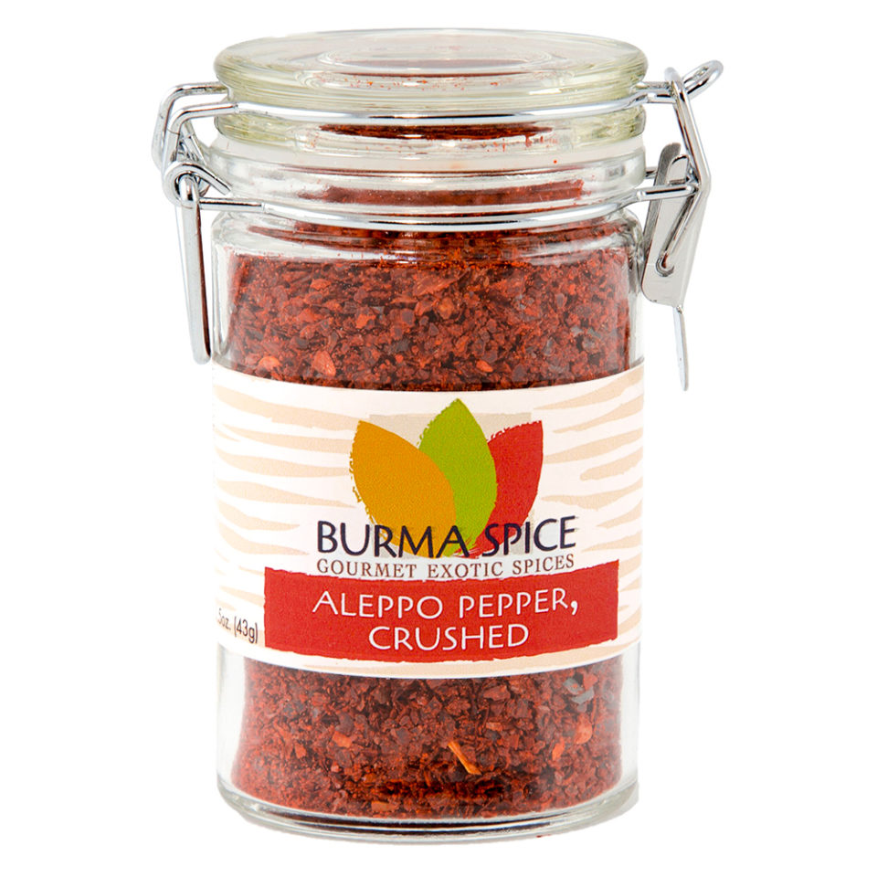 Burma Spice ground Aleppo Peppers sent fresh to you.